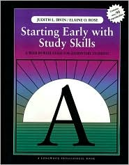 Starting Early with Study Skills: A Week By Week Guide for Elementary Students