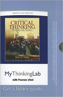 MyThinkingLab with Pearson eText -- Standalone Access Card -- for Critical Thinking
