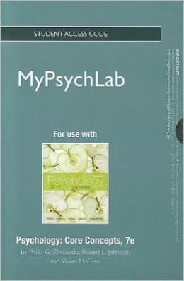 NEW MyPsychLab -- Standalone Access Card -- for Psychology: Core Concepts