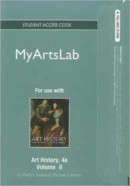NEW MyArtsLab Student Access Code Card for Art History, Volume 2 (standalone)