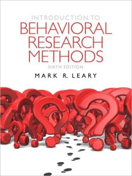 Introduction to Behavioral Research Methods Plus MySearchLab with eText