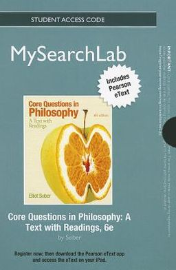 MySearchLab with Pearson eText -- Standalone Access Card -- for Core Questions in Philosophy