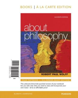 About Philosophy, Books a la Carte Edition