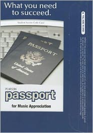 Pearson Passport -- Standalone Access Card -- for Music Appreciation