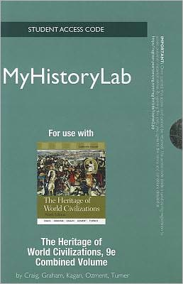 NEW MyHistoryLab -- Standalone Access Card -- for Heritage of World Civilizations