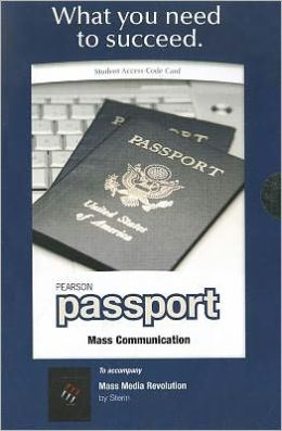 Pearson Passport Student Access Code Card for Mass Media Revolution (Standalone)