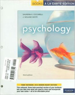 Psychology, Books a la Carte Plus NEW MyPsychLab