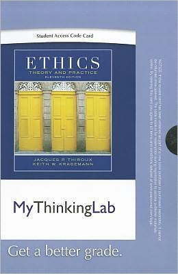MyThinkingLab -- Standalone Access Card -- for Ethics: Theory and Practice