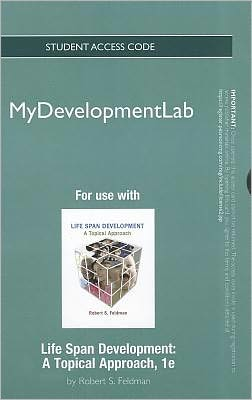 NEW MyDevelopmentLab -- Standalone Access Card -- for Life Span Development: A Topical Approach