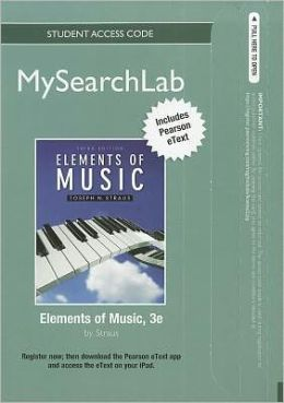 MySearchLab with Pearson eText -- Standalone Access Card -- for Elements of Music