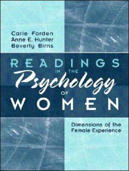 Readings in the Psychology of Women : Dimensions of the Female Experience