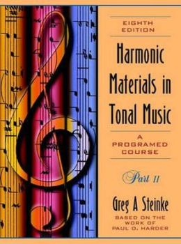 Harmonic Materials in Tonal Music: A Programmed Course
