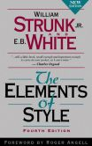 Book Cover Image. Title: The Elements of Style, Author: William Strunk