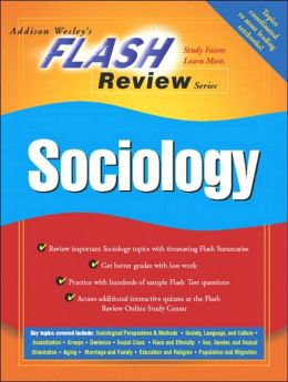 Flash Review: Introduction to Sociology