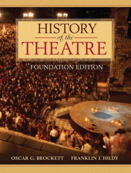History of Theatre, Brief Edition