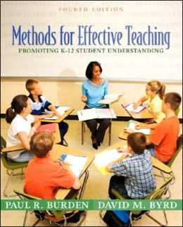 Methods for Effective Teaching: Promoting K-12 Student Understanding
