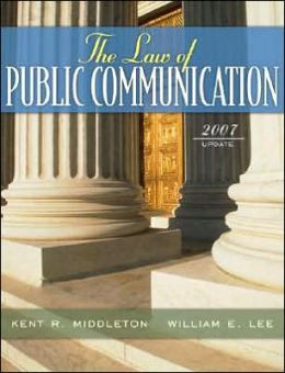 Law of Public Communication, 2007 Update Edition