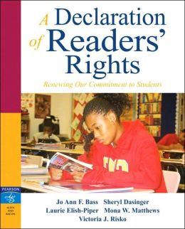 A Declaration of Readers' Rights: Renewing Our Commitment to Students