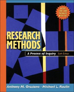 Research Methods: A Process of Inquiry with Website Access