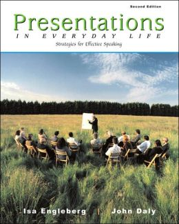 Presentations in Everyday Life : Strategies for Effective Speaking