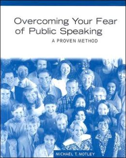 how to get over my public speaking fear