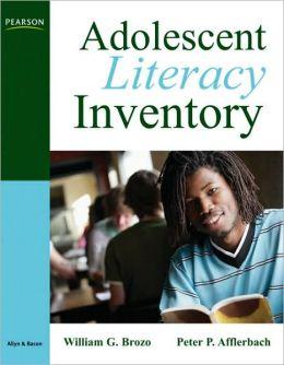 Adolescent Literacy Inventory, Grades 6-12