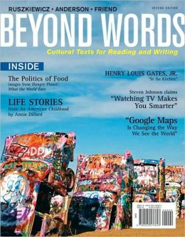 Beyond Words: Cultural Texts For Reading and Writing