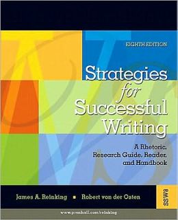 Strategies for Successful Writing: A Rhetoric, Research Guide, Reader and Handbook Value Package (Includes Mycomplab New with Pearson Etext Student Ac