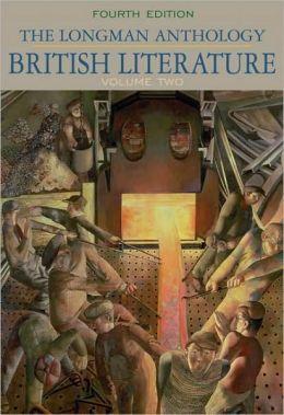 The Longman Anthology of British Literature, Volume II