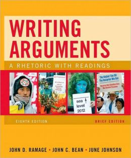 writing arguments a rhetoric with readings 9780205171637 our cheapest price for writing arguments a rhetoric with readings is $001 free shipping on all orders over $3500.