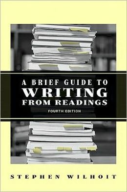 A Brief Guide to Writing from Readings [With Access Code]