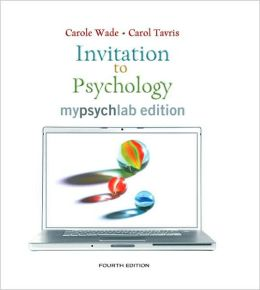 Invitation to Psychology, MyLab Edition (with MyPsychLab Pegasus with E-Book Student Access Code Card)