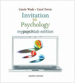 Invitation to Psychology, MyLab Edition Value Pack (includes Study Guide for Invitation to Psychology & Current Directions in Introductory Psychology)