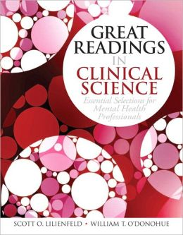 Great Readings in Clinical Science: Essential Selections for Mental Health Professions