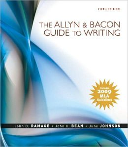 The Allyn & Bacon Guide to Writing: MLA Update Edition