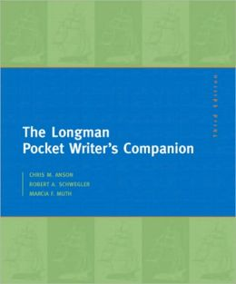 The Longman Pocket Writer's Companion: MLA Update Edition