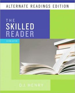 Skilled Reader, The, Alternate Reading Edition (with MyReadingLab Student Access Code Card)