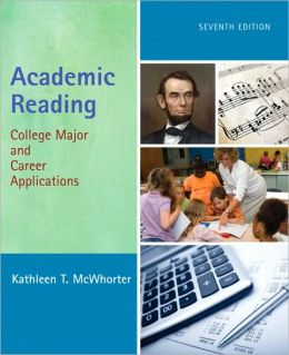 Academic Reading: College Major and Career Applications (with MyReadingLab Student Access Code Card)