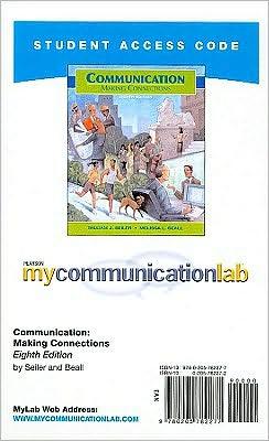 Mycommunicationlab Student Access Code: Communication: Making Connections