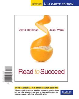 Read to Succeed: A Thematic Approach to Academic Reading, Books a la Carte Edition