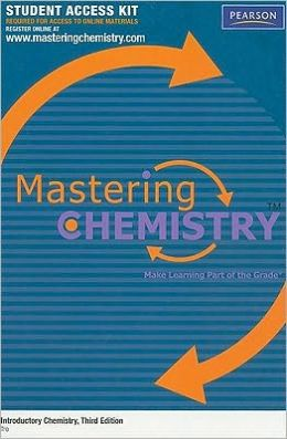 MasteringChemistry Student Access Kit for Introductory Chemistry