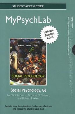 NEW MyPsychLab with Pearson eText -- Standalone Access Card -- for Social Psychology