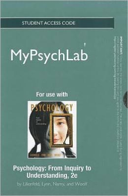 NEW MyPsychLab -- Standalone Access Card -- for Psychology: From Inquiry to Understanding