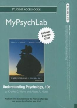 NEW MyPsychLab with Pearson eText -- Standalone Access Card -- for Understanding Psychology