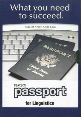 Pearson Passport -- Student Access Card -- for Linguistics (for valuepacks)