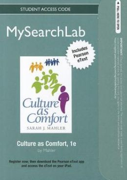 MySearchLab with Pearson eText -- Standalone Access Card -- for Culture as Comfort