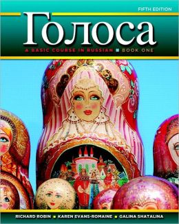 Golosa: A Basic Course in Russian, Book One Plus MyRussianLab with Pearson eText 24MO