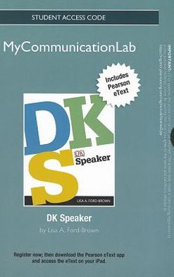 NEW MyCommunicationLab with Pearson eText -- Standalone Access Card -- for DK Speaker
