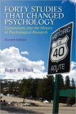Book Cover Image. Title: Forty Studies that Changed Psychology, Author: Roger R. Hock Ph.D.