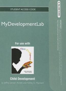NEW MyDevelopmentLab -- Standalone Access Card -- for Child Development: A Cultural Approach